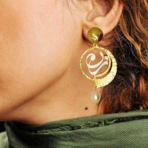 گوشواره یار - زن