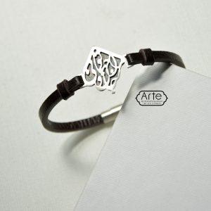 دستبند مردانه تو مرا جان و جهانی